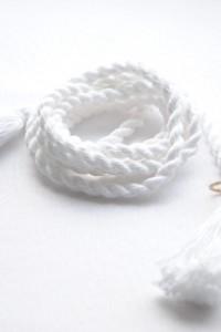 Поясок плетеный