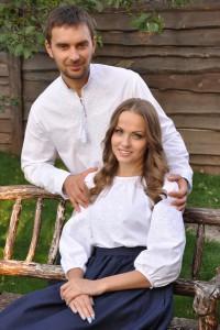 Вышиванка мужская и женская